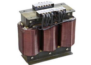 Low Voltage Tembaga Coil Iron Inti Jenis Kering Isolasi Transformer 50HZ / 60HZ